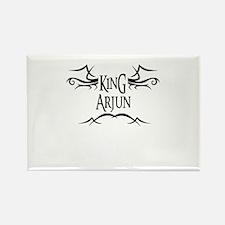 King Arjun Rectangle Magnet