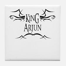 King Arjun Tile Coaster