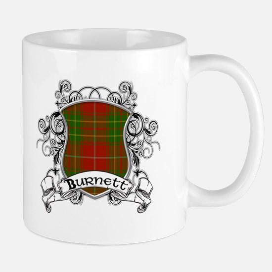 Burnett Tartan Shield Mug