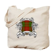 Burnett Tartan Shield Tote Bag