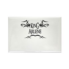 King Arlene Rectangle Magnet