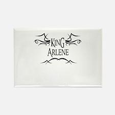 King Arlene Rectangle Magnet