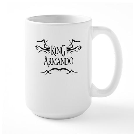 King Armando Large Mug