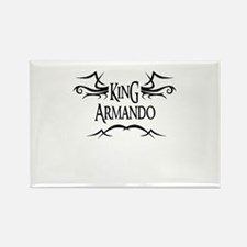 King Armando Rectangle Magnet