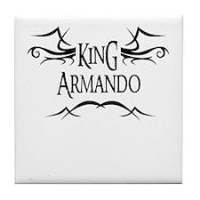 King Armando Tile Coaster