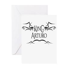 King Arturo Greeting Card