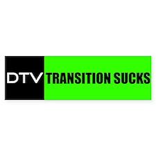 DTV Transition Bumper Bumper Sticker