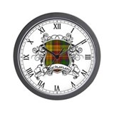 Buchanan tartan Wall Clocks