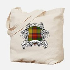Buchanan Tartan Shield Tote Bag