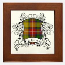 Buchanan Tartan Shield Framed Tile