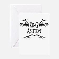 King Ashton Greeting Card