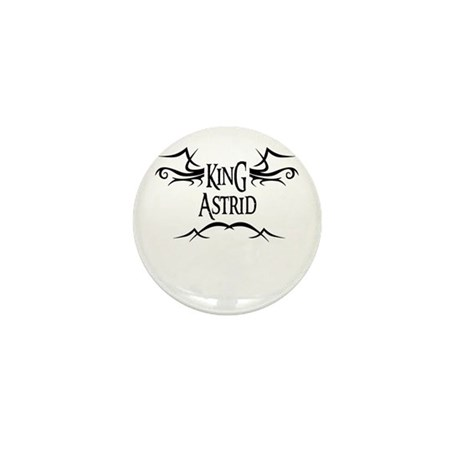 King Astrid Mini Button (10 pack)