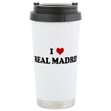 I Love REAL MADRID Travel Mug