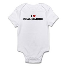 I Love REAL MADRID Infant Bodysuit