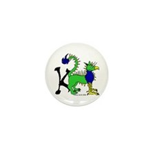 K is for Keythong Mini Button (100 pack)