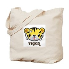 Tuff Tiger Tote Bag