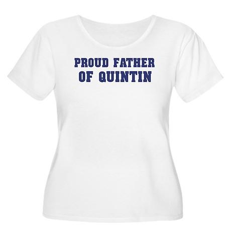 Proud Father of Quintin Women's Plus Size Scoop Ne