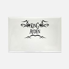 King Ayden Rectangle Magnet