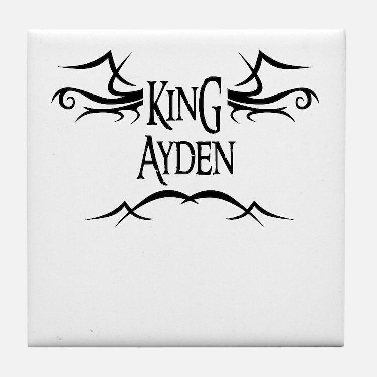 King Ayden Tile Coaster