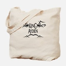 King Ayden Tote Bag