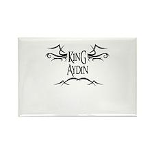 King Aydin Rectangle Magnet