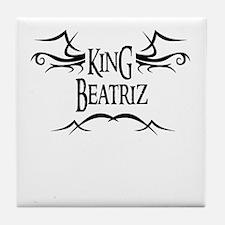King Beatriz Tile Coaster