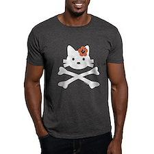 Hibiscus Kitty X-Bones T-Shirt
