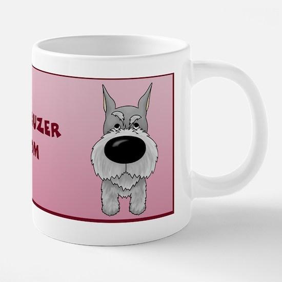 SchnauzerMomMug.jpg 20 oz Ceramic Mega Mug