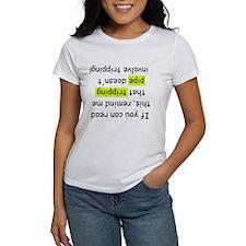 Women's Oil Humor T-shirt