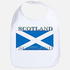 Scotland Scottish Flag Bib