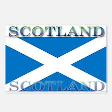 Scotland Scottish Flag Postcards (Package of 8)