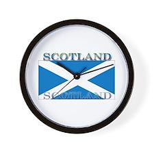 Scotland Scottish Flag Wall Clock