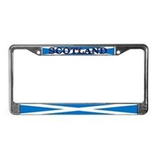 Scotland Scottish Flag License Plate Frame
