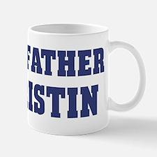 Proud Father of Kristin Mug
