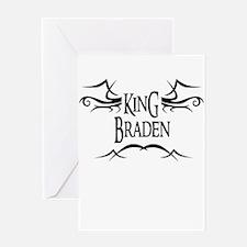 King Braden Greeting Card