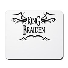 King Braiden Mousepad