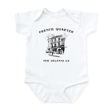 French Quarter Infant Creeper