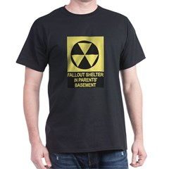 Fallout Shelter Black T-Shirt