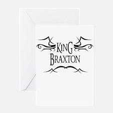 King Braxton Greeting Card