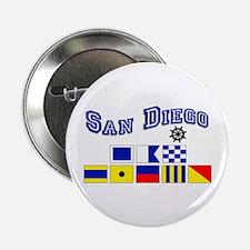 "San Diego 2.25"" Button (10 pack)"