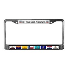 Route 66 License Plate Frame