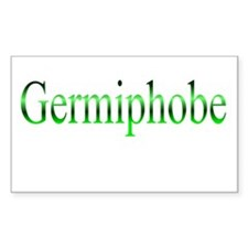 Germiphobe Rectangle Decal