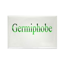 Germiphobe Rectangle Magnet