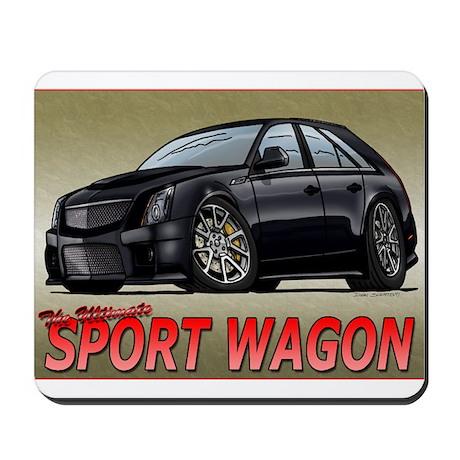Black CTS-V Wagon Mousepad