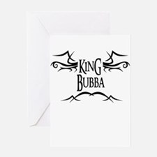 King Bubba Greeting Card