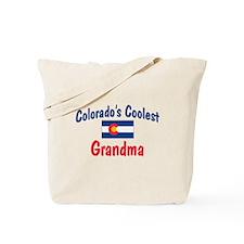 Coolest Colorado Grandma Tote Bag