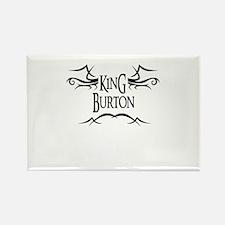 King Burton Rectangle Magnet