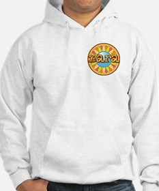 Kara Girl's Name Bright Flower Hoodie Sweatshirt