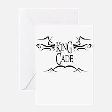 King Cade Greeting Card