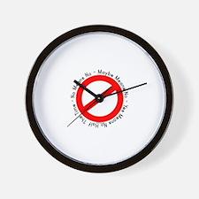No Means No... Wall Clock